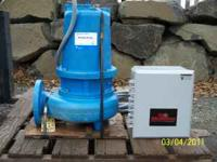 Brand new Gould pump, 7.5 hp with new SJE Rhombus