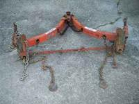 +good- towing hitch with chain hookup for more