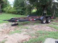 Very well built car or equipment trailer. Has 16ft top,