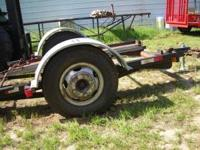 Heavy Duty single axle trailer. The axel is from a