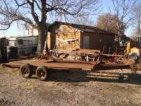 I am selling a heavy duty car trailer that we have used