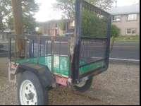 Heavy duty utility trailer for sale! In great