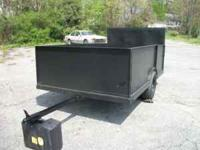 YOU CAN USE THIS HEAVY DUTY TRAILER FOR MANY