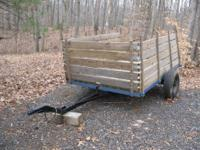 I've got a very well made utility trailer for sale.