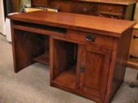 Heavy Duty Wood Office  Desk     Get there 1st and