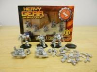 I have 2 Heavy Gear Blitz individuals pewter figure