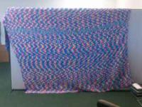 This beautiful blanket is handmade and desgined to fit