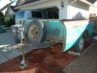 3/4 Ton Chevrolet Bed Trailer - Hauls SUPER-HEAVY