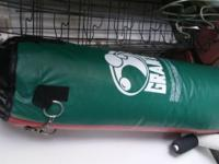 Heavy punching bag and speed punching bags on their
