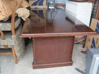 Very heavy and very high quality conference table for