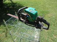 "Weed eater brand Excalibur 22"" blade gasoline powered"