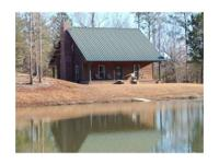 Secluded Custom Built Cabin overlooking 4 acre Spring