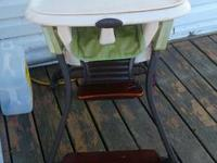 I am selling a height chair it is in great condition it