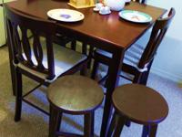 for moving perfect condtion 5 PC Counter Height Dining