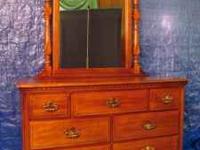 Heirloom Quality Sumter Maple Bedroom Set    5 Pieces.