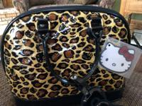 Hello Kitty Bag. May be used as hand bag, overnight bag