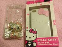 Selling 2 brand new hello kitty cases  They fit on