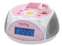 * Stereo Clock Radio and Recharging Station for iPod
