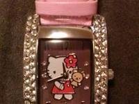 Brand name new HELLO KITTY watch ...$75 or best