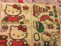 Hello kitty rug 54.5 x 39.5 $10 or obo Hello kitty twin