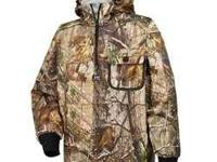 I am selling a very lightly used set of camo raingear