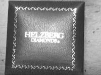 Hellzberg 1kt engagement ring 7.5 warranty included all
