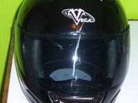Street Legal Motorcycle Helmet  Vega  size