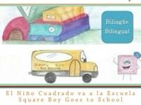 It is a Spanish and English bilingual childs book about