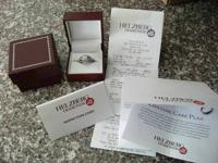 SELLING HELZBERG ENGAGEMENT BAND & WEDDING RING.  COST