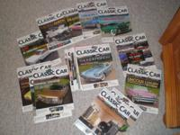 The title of the magazines are Hemmings Classic Car,