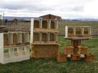 "Nesting Boxes For Sale!!! $35 Each Three 12""X12"" Bays"