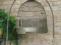Hendryx brass bird cage in very good condition. Made in