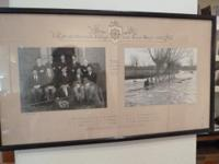 Henley Regatta Pair Original black & white team photos