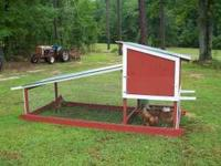 The Henpen is a chicken coop that can be easily moved