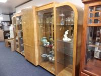 MUST SELL: Beautiful vintage 1970's china cabinet/media