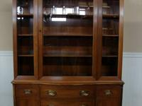 UP FOR SALE WE HAVE THIS LOVELY CHINA CABINET, MADE AND
