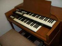 Here is a Hammond M-3 Organ that is as clean as new. It