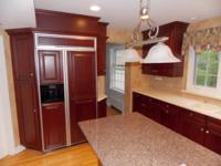Heres A Newer High End Cherry Brookhaven Kitchen For