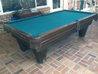 A DIAMOND IN THE ROUGH!!! This pool table is in great