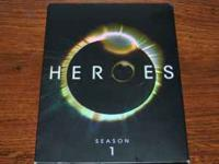 Complete first season of tv series Heroes. Dvd's were