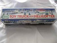 I have several collectable Hess Toy Trucks..New in