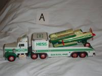 Hess Trucks for sale. Price varies. See pictures. (A)