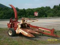 I have a heston chopper with a 2 row corn head. If you