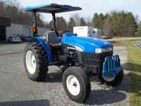 Like New New Holland 2 wheel Drive Tracter, Model