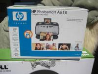 WORKS LIKE NEW!!  Photo printer that prints 4X6 and 5X7
