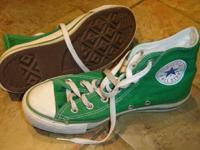 Have a pair of lightly used Light Green Converse Chuck