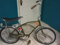I have a Hiawatha muscle bike I'm guessing late 60's.