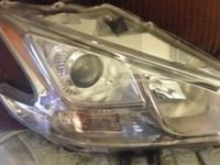 2009 Nissan Maxima passenger side his projector