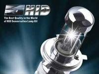 HID conversion kits available in 10,000k temperature in