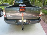 Hidden Hitch Fold Down 3 Bicycle Carrier With Key
